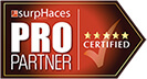 SurpHaces PRO Partner. Click to verify.